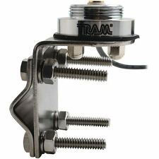 Tram 1249 NMO Stainless Steel Mirror Bracket Antenna Mount with PL-259 Connector
