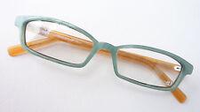 Lesebrille Brillenfassung Brille Naturtöne Kunststoff schmal frame4U occhiali M