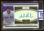 2012 TRIBUTE ADRIAN GONZALEZ 1/1 AUTOGRAPH PURPLE REFRACTOR AUTO TRUE 1 OF 1 HOT