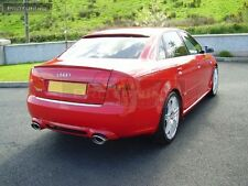 AUDI A4 B7 05-08 Saloon Berlina Spoiler RS4 LOOK REAR RS S per SLINE S-LINE Trunk LIP