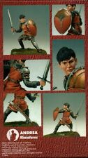 ANDREA MINIATURES NARNIA-04 - EDMUND - 54mm WHITE METAL