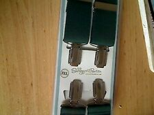 "SWAGGER & SWOON GREEN BRACES CLIP 48"" LONG NEW"