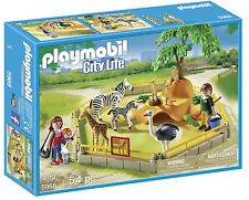 Playmobil 5968 Wild Animal Enclosure Playset Ages 4+ Toy Boys Girls Play Gift