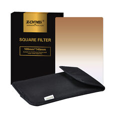 ZOMEI 150mm x 100mm Graduated Coffee Square Filter for Cokin Z series
