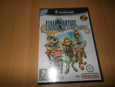 Final fantasy crystal chronicles-Nintendo GameCube neuf scellé