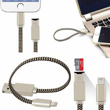 TF SD Kartenleser Lightning USB Stick iPhone 5 6 7 iPad Air iPod Kartenlesegerät