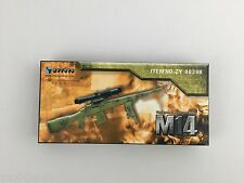ZY Toys 1/6th Scale M14 Designated Marksman Riffle (Tan 8029B)