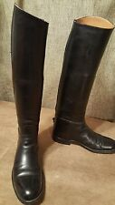 Dehner Custom Tall Equestrian Fox Hunting Dress Boots Mens 8.5  Ladies 9.5 M