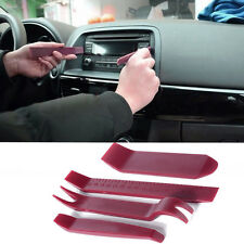 4PC Car Home Door Panel Dashboard AUX USB Plastic Trim Removal Pry Tools Kit HOT
