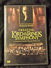 Howard Shore Creating The Lord of the Rings Symphony DVD NEW LINE 2004