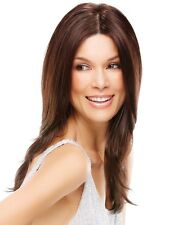 Jon Renau 100% Hand Tied Wig - Courtney Color 4, Brownie Finale- Brand New !!