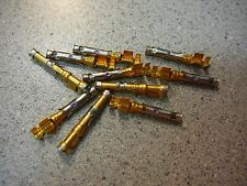 AMP 66360-1 Connector Socket Pin 14-18AWG 30AU Crimp GOLD *NEW* 10/PKG