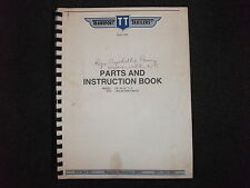 Transport Trailers GP 30-2F T-1 parts & instruction book