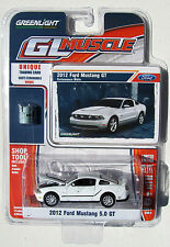 GREENLIGHT GL MUSCLE SERIES 6 2012 FORD MUSTANG 5.0 GT Performance White