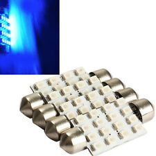4x 42mm 16 3528-SMD Led Car Interior Festoon Dome Bulb Light Bright Blue d2m