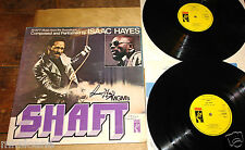 ISSAC HAYES ~ SHAFT ~ HAND SIGNED UK VINYL STAX LP 1971 ~ UACC REGISTERED DEALER