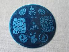 Easter Bunny Egg Theme DIY Manicure Nail Art Stamping Template Image Plate