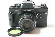Kiev-19M + MC Helios-81H (81N Arsat H) 2/50 50mm lens SLR film camera. for Nikon