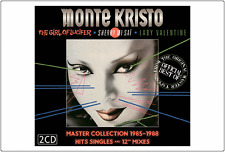 "MONTE KRISTO - 2 CD LIMITED - ITALO DISCO - 12"" MIXES - NEW AND SEALED CD"