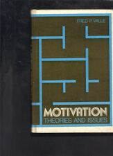 Motivation Theories and Issues by Fred P. Valle (Hardback)