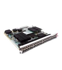 Used Cisco WS-X6748-GE-TX 48 Port 10/100/1000 RJ45 Switch Module Card