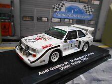 AUDI Sport S1 E2 Quattro Rallye Ulster 1985 #1 Mouton Shell Pi Gr.B  UMBAU 1:43
