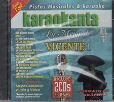 Vicente Fernandez Lo Mejor 2CD 43 Temas New Nuevo sealed