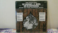 RURAL RHYTHM 191-LEGENDARY JE MAINER & MOUNTAINEERS SEALED NEW LP