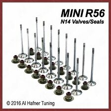 Mini Cooper R56 N14 Intake & Exhaust Valve set + seals 11347587470, 11347547187