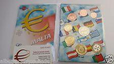 2016 MALTA 8 monete fdc UNC 3,88 EURO Malte Мальта