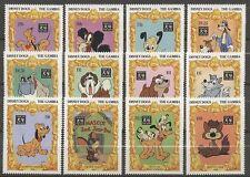 Walt Disney, Jahr des Hundes - Gambia - 1819-1830 ** MNH 1994