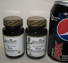 (2) Sea Buckthorn,  from Swanson     120 capsules, 400 mg each