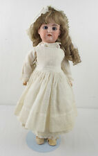 "Antique Armand Marseille Florodora Doll Bisque Doll Sleepy Eyes 18"" Jointed Body"
