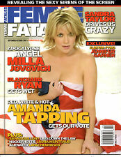 Femme Fatales September October 2004 Amanda Tapping Uncirclated Magazine