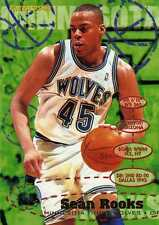 Carte Fleer Basketball 95-96 Sean ROOKS Timberwolves Minnesota NBA
