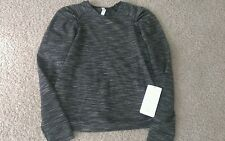 NWT Lululemon Lab City Pullover Long Sleeve size 12 Cashew