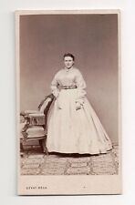 Vintage CDV Unidentified Austrian / Hungarian Noble Gevay Bela Photo Budapest