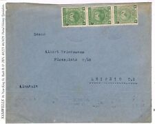 S299 1927 Paraguay Cover Leipzig Germany {samwells-covers}PTS