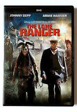 Disney Armie Hammer Johnny Depp The Lone Ranger on DVD English French Spanish