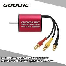 High-torque GoolRC S2430 7200KV Brushless Motor for 1/18 1/16 RC Car P4G7