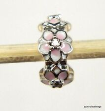 NEW! AUTHENTIC PANDORA CHARM MAGNOLIA BLOOM SPACER  #792088PCZ  P