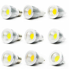 12W Ultra Bright  GU10 Dimmable LED COB Spot down light bulb  Warm White