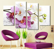 Not Framed Canvas Print home decor wall art pink flower floral orchid picture