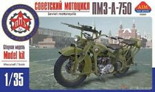 "MOTOCYCLETTE SOVIETIQUE PMZ ""TPM-A-750"", WW2 - KIT AIM FAN MODEL 1/35 n° 35005"