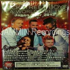 BACKSTREET BOYS - In A World Like This - Japan Tour 2013 - Japan 2 DVD Set - GMB