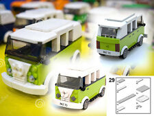 LEGO Volkswagen Combi minivan PDF instructions custom 10220 40079 MOC