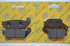 FRONT REAR BRAKE PADS fits HONDA VT 1100 Shadow ACE Sabre Aero, 95-07 VT1100