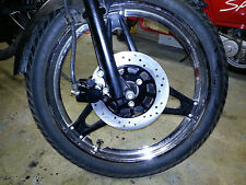 Honda MB5 New Front Drilled Rotor And Brake Caliper