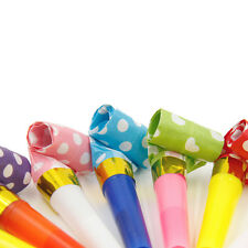 MultiColor Party Blowouts Whistles Birthday Party Favors Decoration Supplie EF