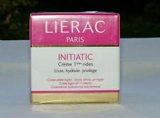 Crème 1° Rides Lissante,énergisante LIERAC INITIATIC 40 ml 100% Made in France